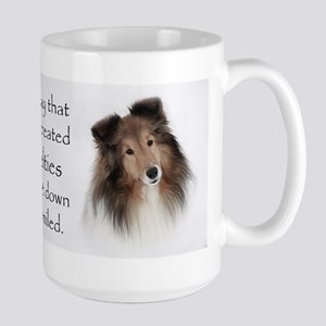 Sheltie Large Mug